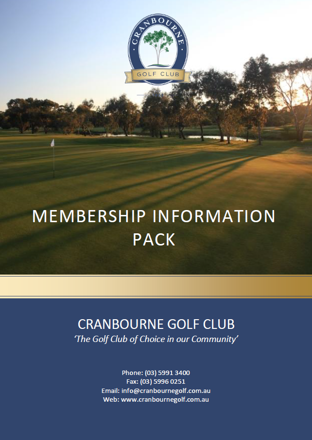 Membership information pack