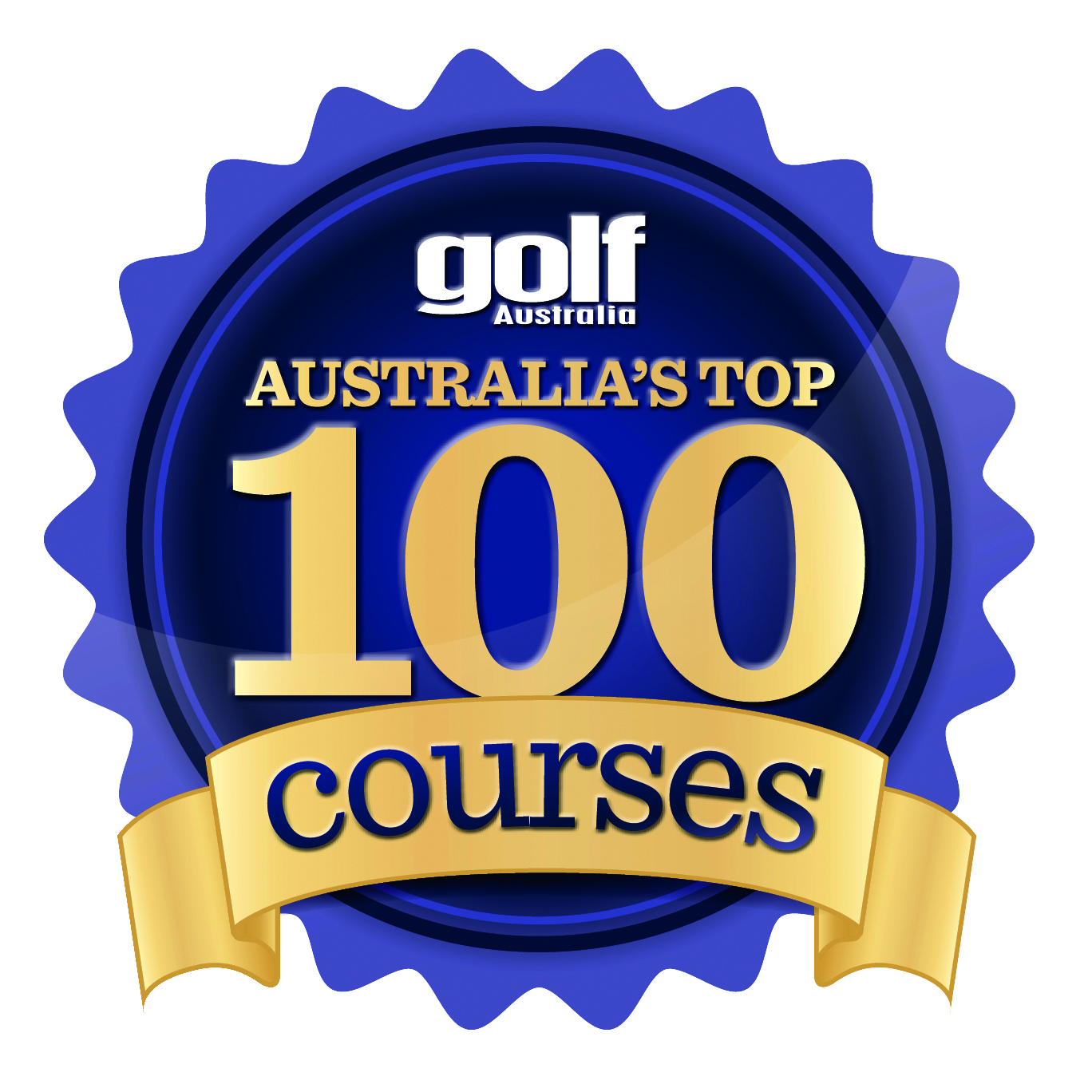 TOP 100 COURSES 2016 STAMP