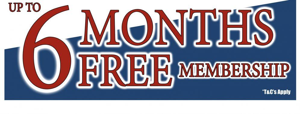 6 months free slider copy